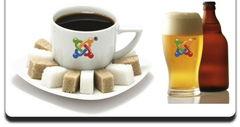 have a drink with your joomla
