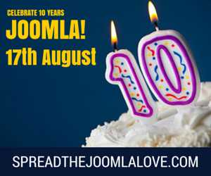celebrate joomla borthday